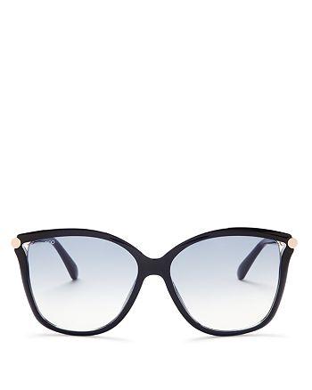 Jimmy Choo - Women's Tatti Oversized Cat Eye Sunglasses, 58mm