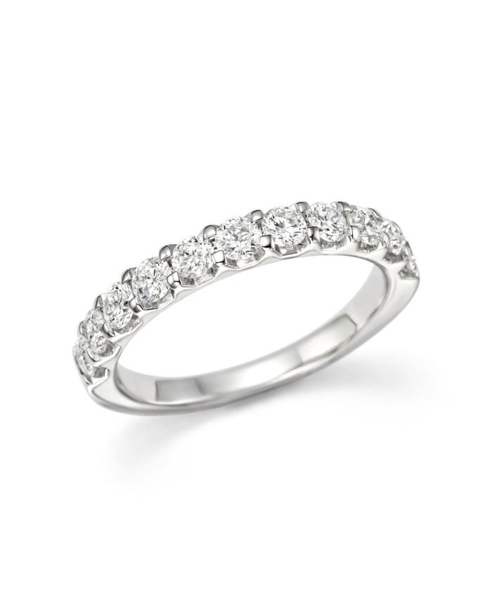 Bloomingdale's Diamond Band in 14K White Gold, 1.0 ct. t.w. - 100% Exclusive  | Bloomingdale's