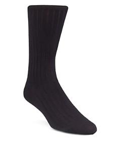 Calvin Klein Ribbed Dress Socks - Bloomingdale's_0