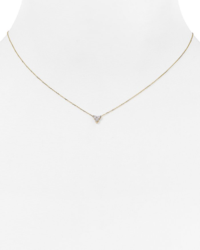 Adina Reyter - Diamond Cluster Necklace, 15""