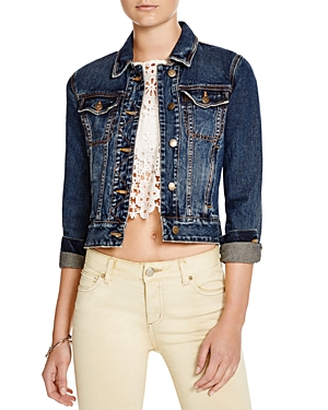 Free People Fitted Denim Jacket