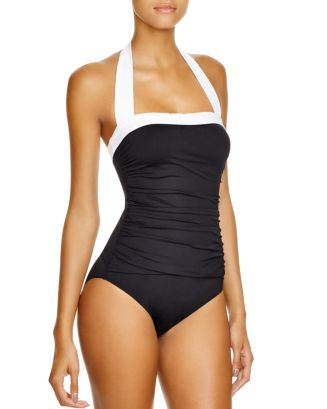 Bel Aire Maillot One Piece Swimsuit by Lauren Ralph Lauren