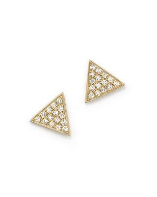 Dana Rebecca Designs Emily Sarah Diamond Pave Triangle Stud Earrings Nordstrom Exclusive
