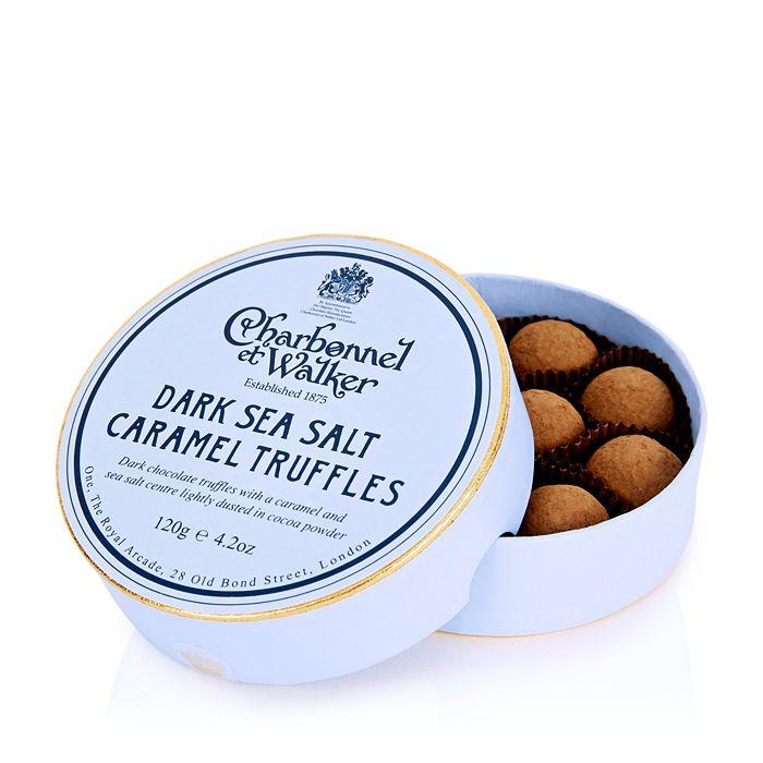 Charbonnel et Walker - Dark Sea Salt Caramel Truffles