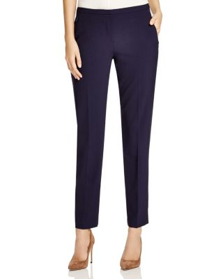 Jillian Stretch Wool Slim Pants by Elie Tahari