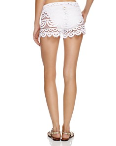 PilyQ - Lexi Swim Cover-Up Shorts
