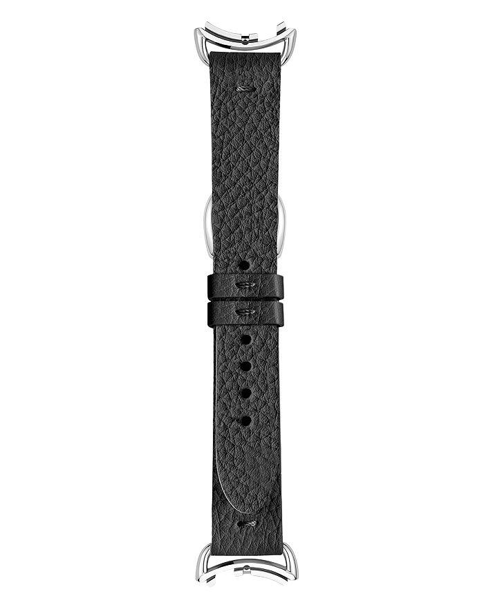 Fendi - Selleria Black Leather Watch Strap, 18mm