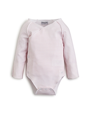 Absorba Girls' Long Sleeve Gingham Bodysuit - Baby