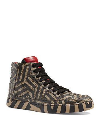 2f45869a090 Gucci - Men s GG Caleido High Top Sneakers