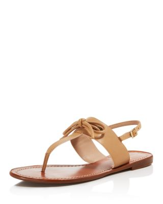 Kate Spade New York Bow-Accented Thong Sandals