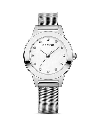Bering - Classic Mesh Strap Watch, 25mm