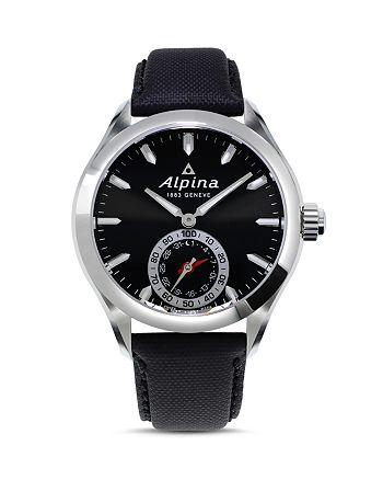 Alpina - Black Strap Horological Smartwatch, 44mm