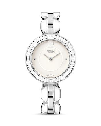 Fendi - My Way Ceramic and Stainless Steel Watch, 36mm