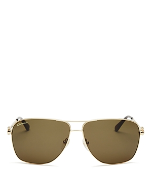 Salvatore Ferragamo Navigator Sunglasses, 61mm