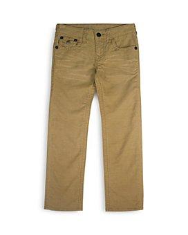 True Religion - Boys' Geno Relaxed Straight Twill Pants - Little Kid, Big Kid