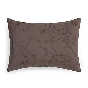 Vera Wang Winter Blossoms Embroidered Decorative Pillow, 15 x 20