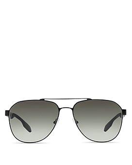 Prada - Men's Punched Aviator Sunglasses, 60mm