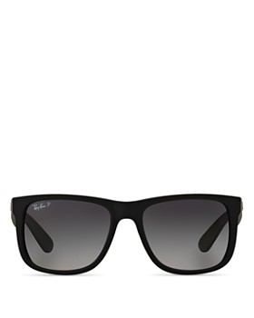 Ray-Ban - Unisex Justin Polarized Square Sunglasses, 55mm