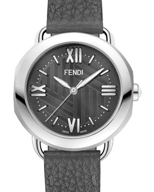 Fendi Stainless Steel Selleria Watch Head, 36mm
