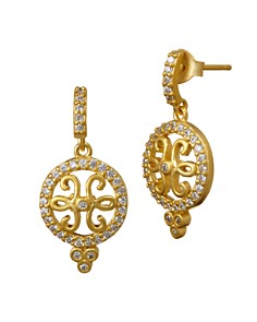 Freida Rothman Open Filigree Drop Earrings - Bloomingdale's_0