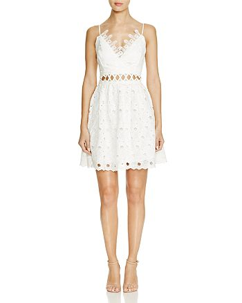 Lucy Paris - Cutout Lace Dress - 100% Exclusive