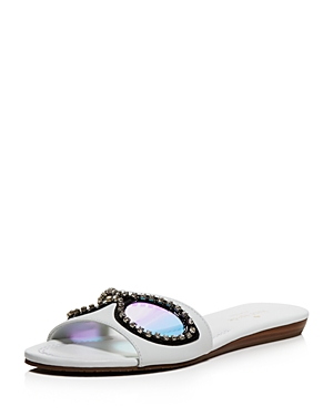 kate spade new york Taleen Too Sunglass Slide Sandals