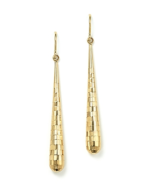 14K Yellow Gold Teardrop Drop Earrings - 100% Exclusive