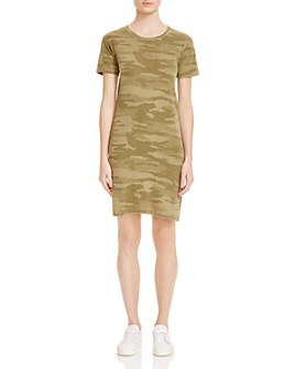 Current/Elliott - Camo Tee Dress