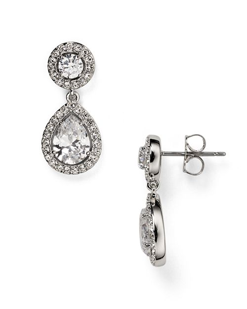 Nadri - Swarovski Crystal Drop Earrings