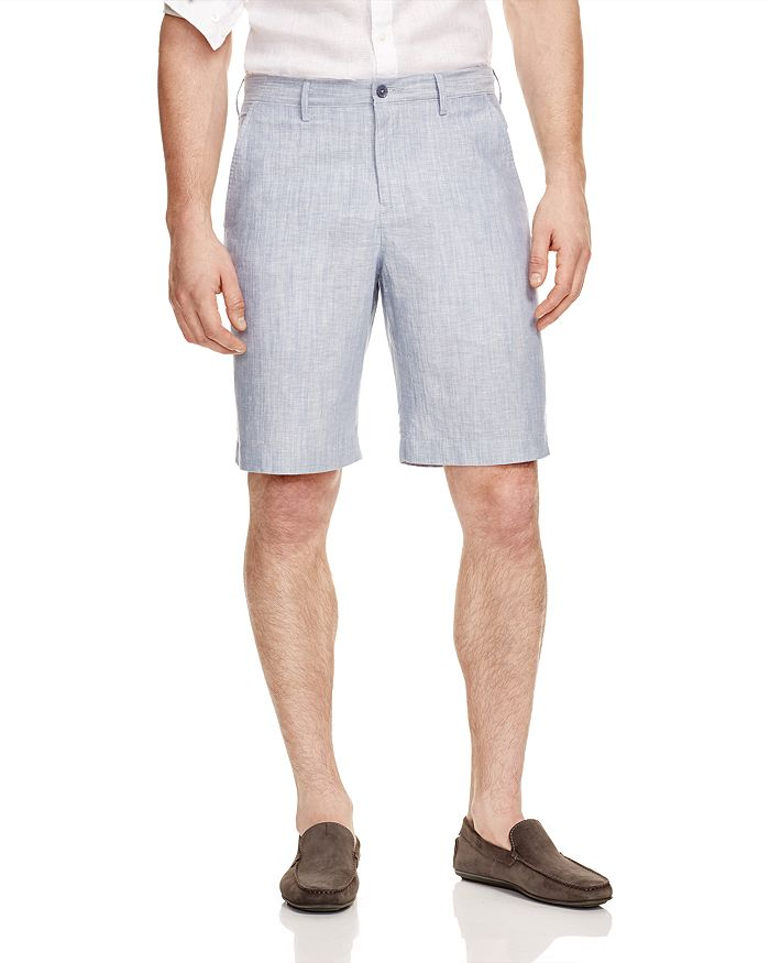 The Men's Store at Bloomingdale's - Linen Cotton Shorts - 100% Exclusive