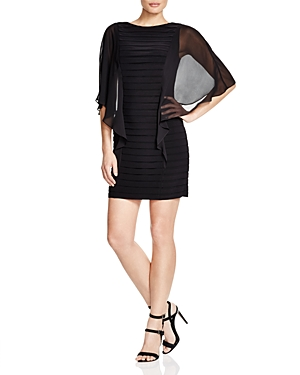 Adrianna Papell Chiffon Sleeve Dress