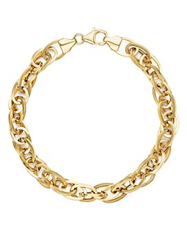 Bloomingdale's - 14K Yellow Gold Oval Link Chain Bracelet - 100% Exclusive