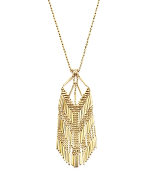 14K Yellow Gold Beaded Dangle Chain Necklace, 17 - 100% Exclusive