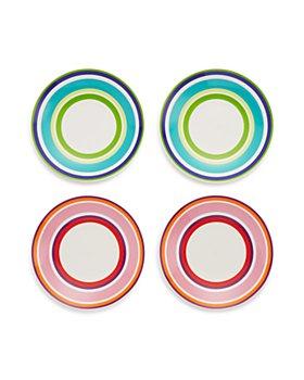 kate spade new york - Wickford Stripe Tidbit Plates, Set of 4 - 100% Exclusive