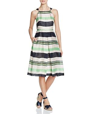 Whistles Miriam Stripe Dress