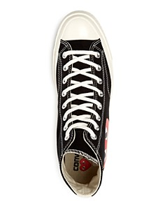 Comme Des Garcons PLAY - Men's Converse Chuck Taylor High Top Sneakers