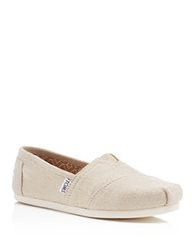TOMS - Women's Seasonal Classic Metallic Slip-On Flats