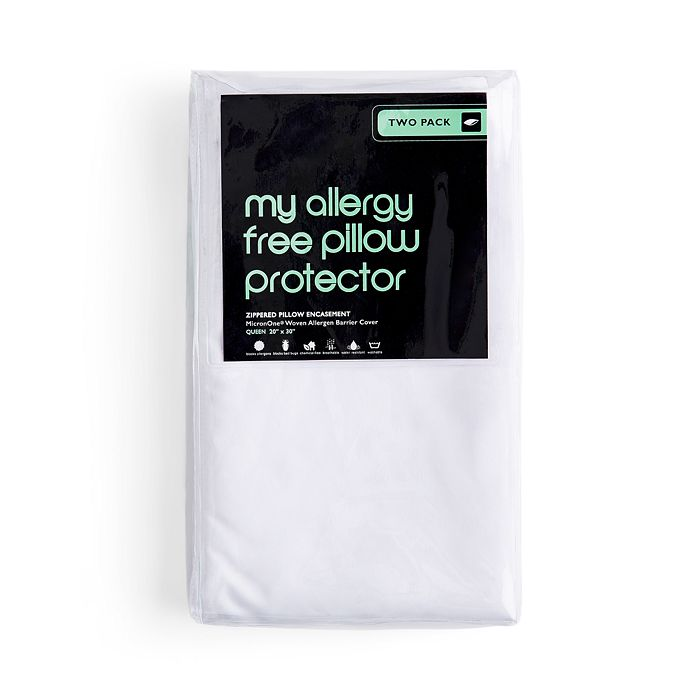 Bloomingdale's - Allergy Blocker Pillow Protector, Queen - 100% Exclusive