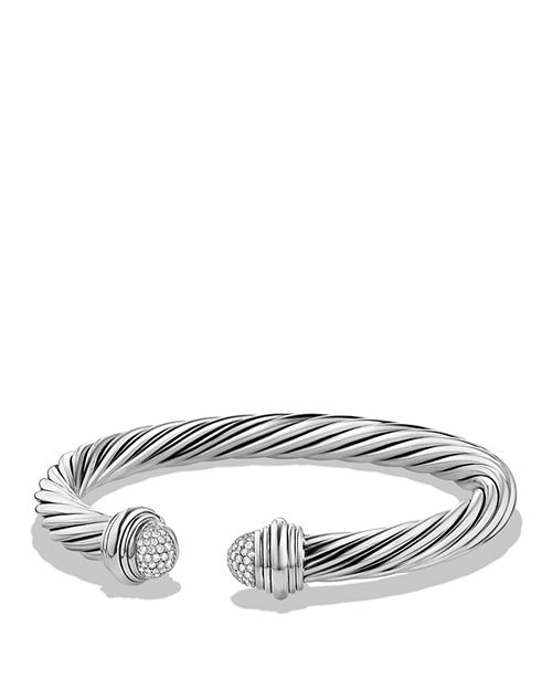 David Yurman - Cable Classics Bracelet with Diamonds