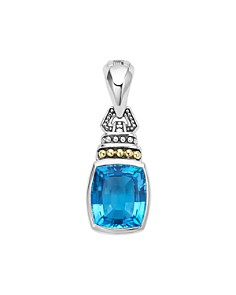 LAGOS 18K Gold and Sterling Silver Caviar Color Gemstone Pendants - Bloomingdale's_0