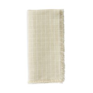 Juliska Windowpane Napkin, Flax