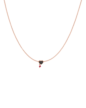 Tous Spinel & Ruby Necklace, 17.7