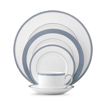 Vera Wang - Wedgwood Grosgrain Indigo 5-Piece Place Setting