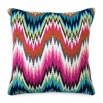 "Jonathan Adler - Bargello Worth Decorative Pillow, 20"" x 20"""