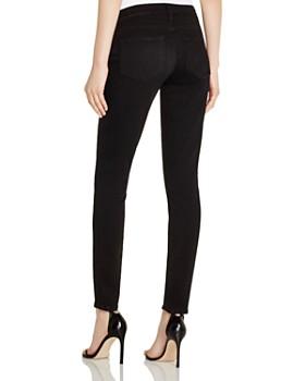 PAIGE - Verdugo Skinny Maternity Jeans in Black Shadow