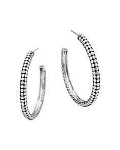 John Hardy Sterling Silver Dot Small Hoop Earrings - Bloomingdale's_0