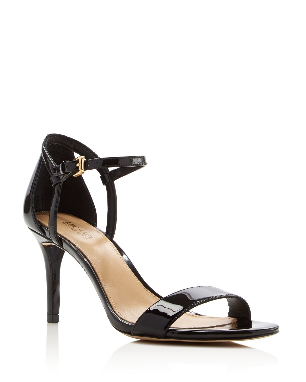 Michael Kors Women's Simone High-Heel Ankle Strap Sandals