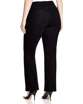 NYDJ Plus - Barbara Bootcut Jeans in Black