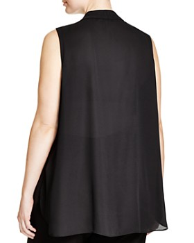 VINCE CAMUTO Plus - Pleat Top