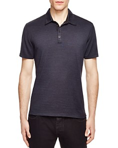 John Varvatos Collection Striped Slim Fit Polo - Bloomingdale's_0